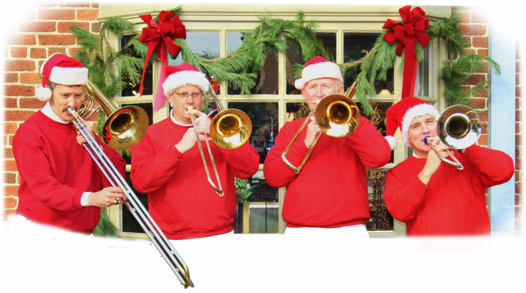 The SantaBones Holiday Trombone Quartet